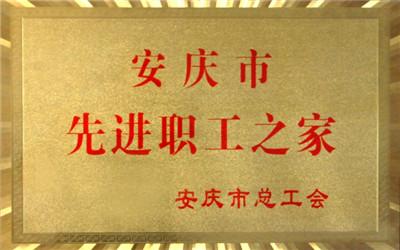 安庆市先进职工之家