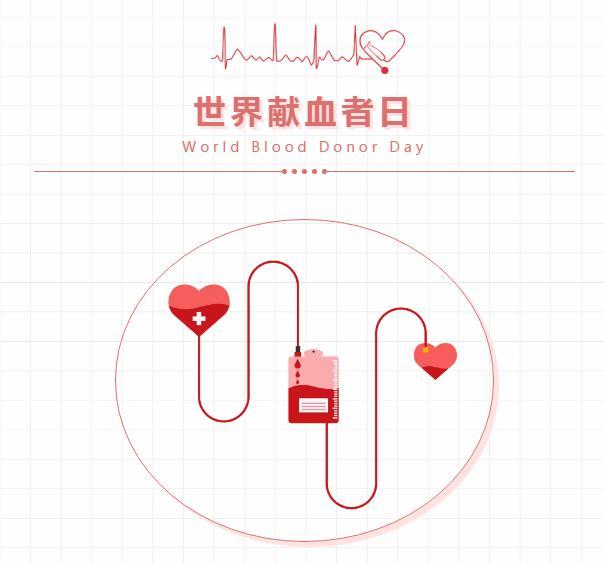 世界献血者日 | 感谢有你,致敬无偿献血者!